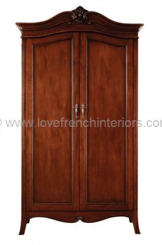 Paris Mahogany Double Wardrobe